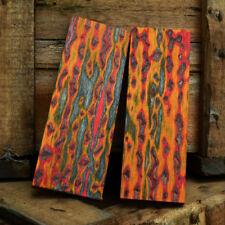 3D Bunte Holz Block Griff Material Messermachen Messer Schmied Lieferungen