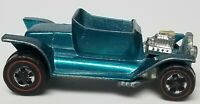Vintage Hot Wheels Redline - US Hot Heap Aqua No Interior No Windshield