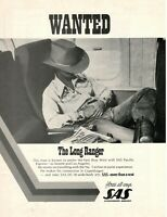 1975 Original Advertising' SAS Scandinavian Airlines System Company Wanted