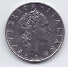 1 COIN ITALY ITALIANA 50 LIRE L 1955