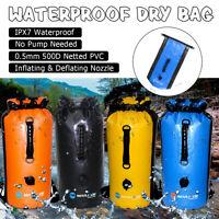 30L Waterproof Backpack Outdoor Dry Bag Sport Surfing Boating Swimming Rucksack