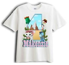 Sheriff Callie's Wild West Personalized - Birthday T-Shirt Party Favor