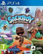 Sackboy: A Big Adventure (PS4) Brand New & Sealed Free UK P&P