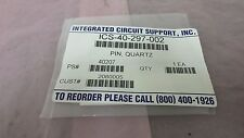 Integrated Circuit Support ICS-40-297-002 Quartz Pin, Tegal 40-297-002, 410475