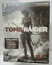 Tomb Raider Sony Playstation 3 PS3 Comic Book Aviatrix Skin Shanty Town Limited
