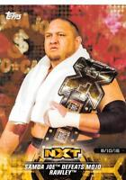 2018 Topps WWE NXT Matches and Moments Parallel Cards Pick From List (All Sets)