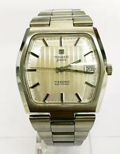 Tissot Tissotsonic Stainless Steel tuning fork bracelet Wristwatch Circa 1970s