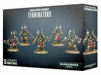 40K Chaos Space Marines Terminators Squad 5 models Warhammer Heretic Astartes