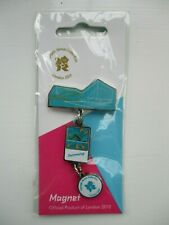 Official London 2012 Chain Magnet Olympic Venue Collection Swimming