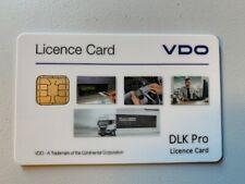 Lizenzkarte VDO Downloadkey DLK PRO für DTCO 4.0 Intelligenter Fahrtenschreiber