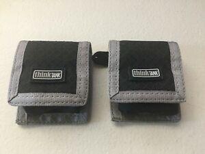 (2) Think Tank CF/SD + Battery Wallets