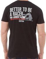 Onfire Mens Racer T-Shirt With Back Print Black BNWT RRP £19.99 Size L XL & XXL