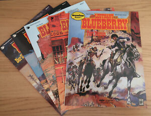 Leutnant Blueberry - Band 1-4+6 - Delta-Verlag - Charlier / Giraud - Softcover