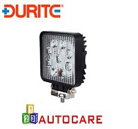 Durite 0-420-46 9 x 3W LED Work Lamp with 300mm Flying Lead - Black 12V/24V IP67