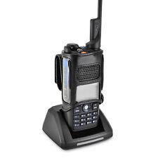 Retevis MD2017 Radio Belt Case Holder Two 2Way Radios Walkie Talkie Bl