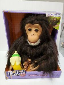 Real Furreal Friends Cuddle Chimp Chimpanzee Monkey 2009 New In Box! Rare!