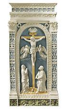 Crucifixion by Giovanni della Robbia Renaissance Wall Sculpture Reproduction