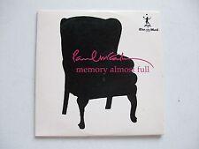 Paul McCartney MEMORY ALMOST FULL CD The Mail Promo 07**GC**