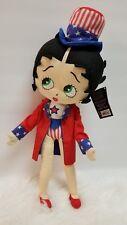 "18"" Betty Boop Patriotic Plush"