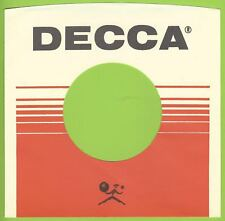 DECCA REPRODUCTION RECORD COMPANY SLEEVES - (pack of 10)