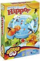 Hasbro Jeu Hungry Hippo's Mini Voyage Version Hungry Hippo Jeu Attrape & Go