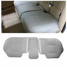 Grey Car Rear Seat PU Leather 3D Surround Car Seat Protector Rear Seat Cover
