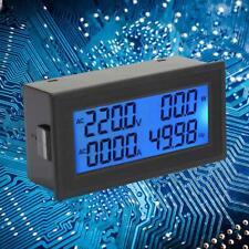 Digital Display Ac Ampere Frequency Meter Voltmeter Power Factor Meter 020a