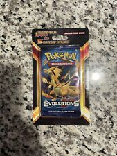 Pokemon XY Evolutions Sealed Booster Blister Pack with 5 Bonus Cards! Charizard?