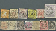 1800's WW STAMPS LOT NICE CD SONS CANCELS TRANSVAAL, SWITZERLAND PRUSSIA, & MORE