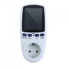 Digital Wattmeter Power Analyzer Power Energy Meter Kwh Power Switch Socket New