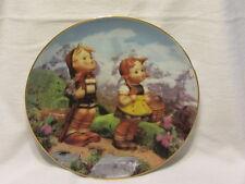 M J Hummel Little Explorers Little Companions Danbury Mint Collection Plate Coa