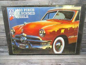 FX Schmid 1000 Piece Car Jigsaw Puzzle Ancient Reflection Graham Reynolds FORD
