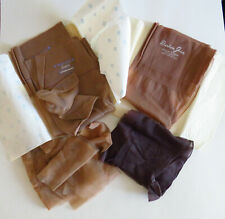 Original deadstock 1940's 1950's fully fashioned seamed stockings lot of 5 pair