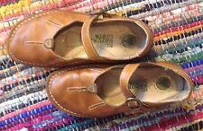 EL NATURALISTA* Mary Jane Tan leather shoes * Size 5 / 38 * hippie*boho*festival