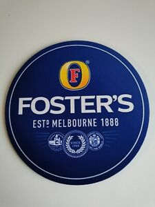FOSTERS 20cm Diameter NEOPRENE Drink Mat /Mouse Mat NEW