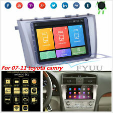 9'' Android 9.1 Quad-core Car GPS Nav Wifi 3G 4G BT OBD For 2007-11 Toyota Camry