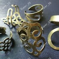 40pcs Vintage Bronze & Alloy Rings Wholesale Jewelry Mixed Style Lots Fashion