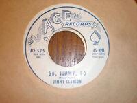Jimmy Clanton 45 Go Jimmy Go ACE