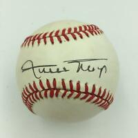 Nice Willie Mays Signed Official National League Baseball PSA DNA COA