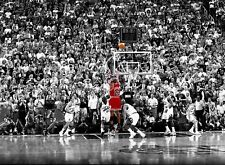 Michael Jordan - Iconic Basketball Legend Sports Wall Art Canvas Pictures