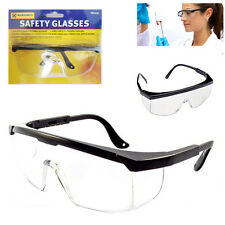 Safety Goggles DIY Eye Protection Glasses Fog Clear Vision Lens Industrial Cover