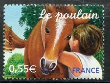 STAMP / TIMBRE FRANCE  N° 3899 ** SERIE NATURE FAUNE / LE POULAIN