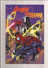 COMPLETE SET: BACKLASH/SPIDER-MAN #1 & #2 NM VENOM APP! *WHITE PAGES* 1996