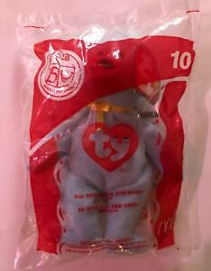 2004 Ty Beanie Baby McDonald's Big Red Shoe The Bear, New in Package