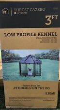 Advantek Pet Gazebo 3FT Low Profile Kennel Corral Indoor/Outdoor New In Box