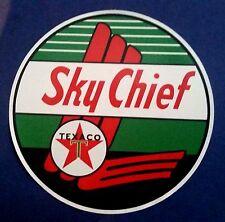 TEXACO SKY CHIEF Sticker Decal VINYL Garage Promo Service Station OIL PETROL