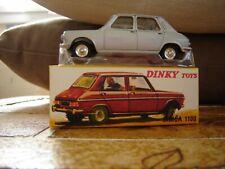 Dinky Toys F Atlas Simca 1100 berline Gris métal 1970 Neuf Boite 1407
