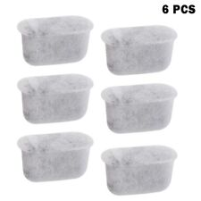 6 Pcs Charcoal Water Filters for Breville Coffee Machine Water Dispenser Sports