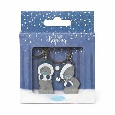 Me to You Winter Tatty Teddy Set of 2 Keyrings
