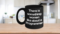 Programmer Mug Black Coffee Cup Funny Gift for Coding Computer Geek Software